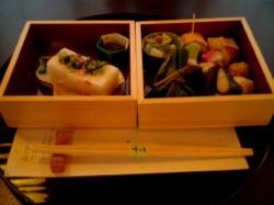 おまわり弁当。京野菜うまーw